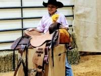 2018 DRTPA Finals - Jr Youth High-Point Saddle Winnder - Bentley Hamilton